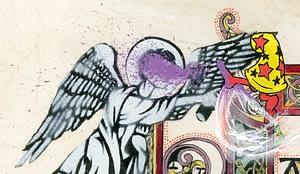 Detail from incipit page, SANCTUM